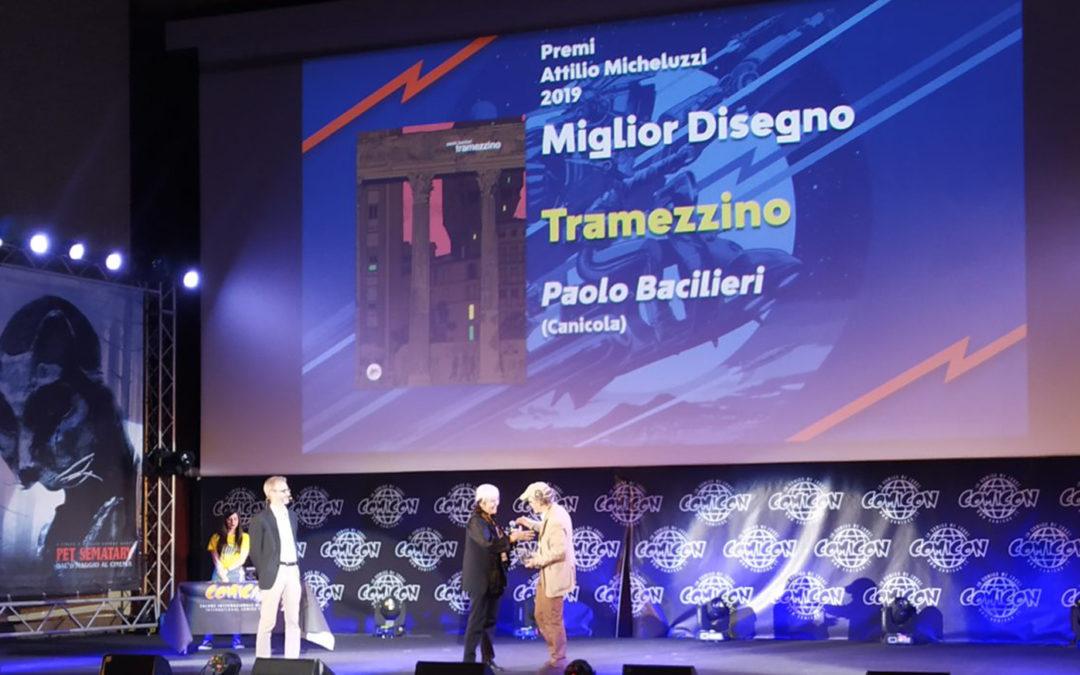 Premio Micheluzzi al Comicon 2019