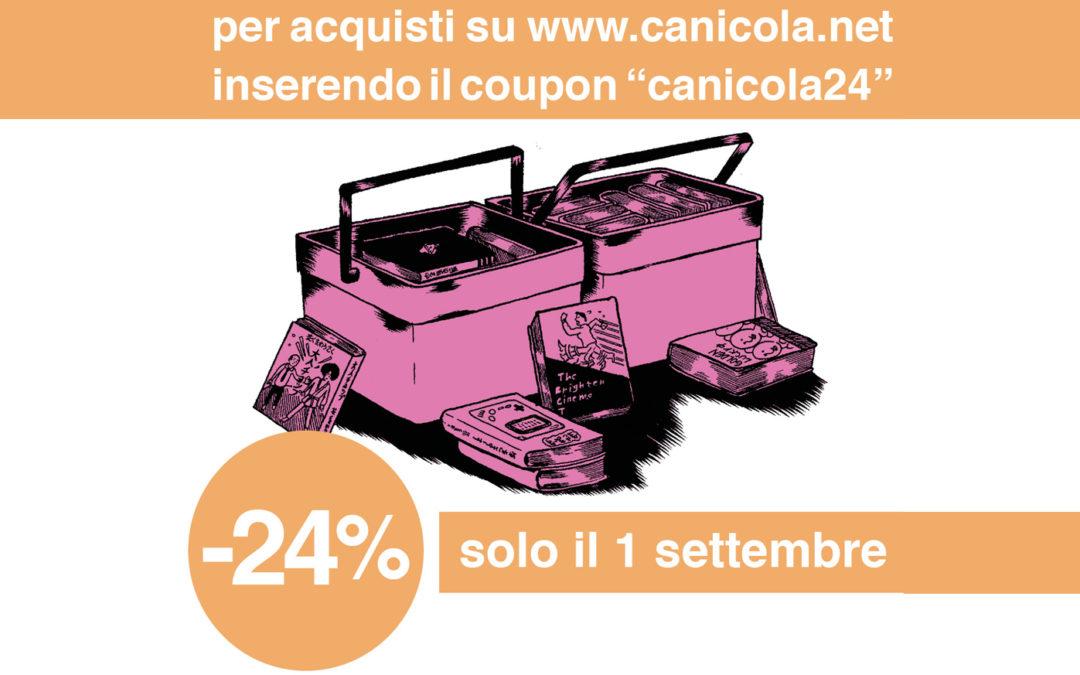 Sconto del 24% sul catalogo Canicola